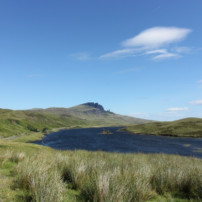 The Storr from the distance.