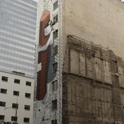 mural en santiago